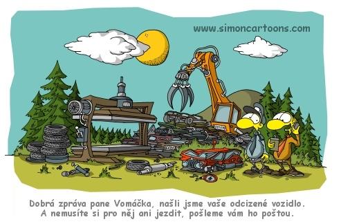 Marek Simon Kreslene Vtipy Obrazky Ilustrace A Kresby Na Zakazku